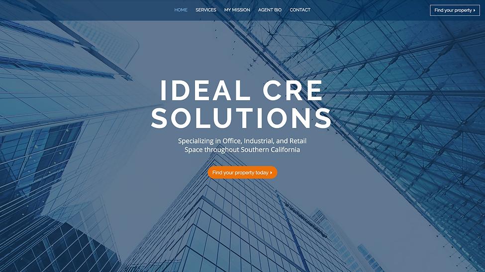 Robin Sign Commerical Real Estate Website   Juliana Laface Graphic Design & Web Design   Edmonton, AB