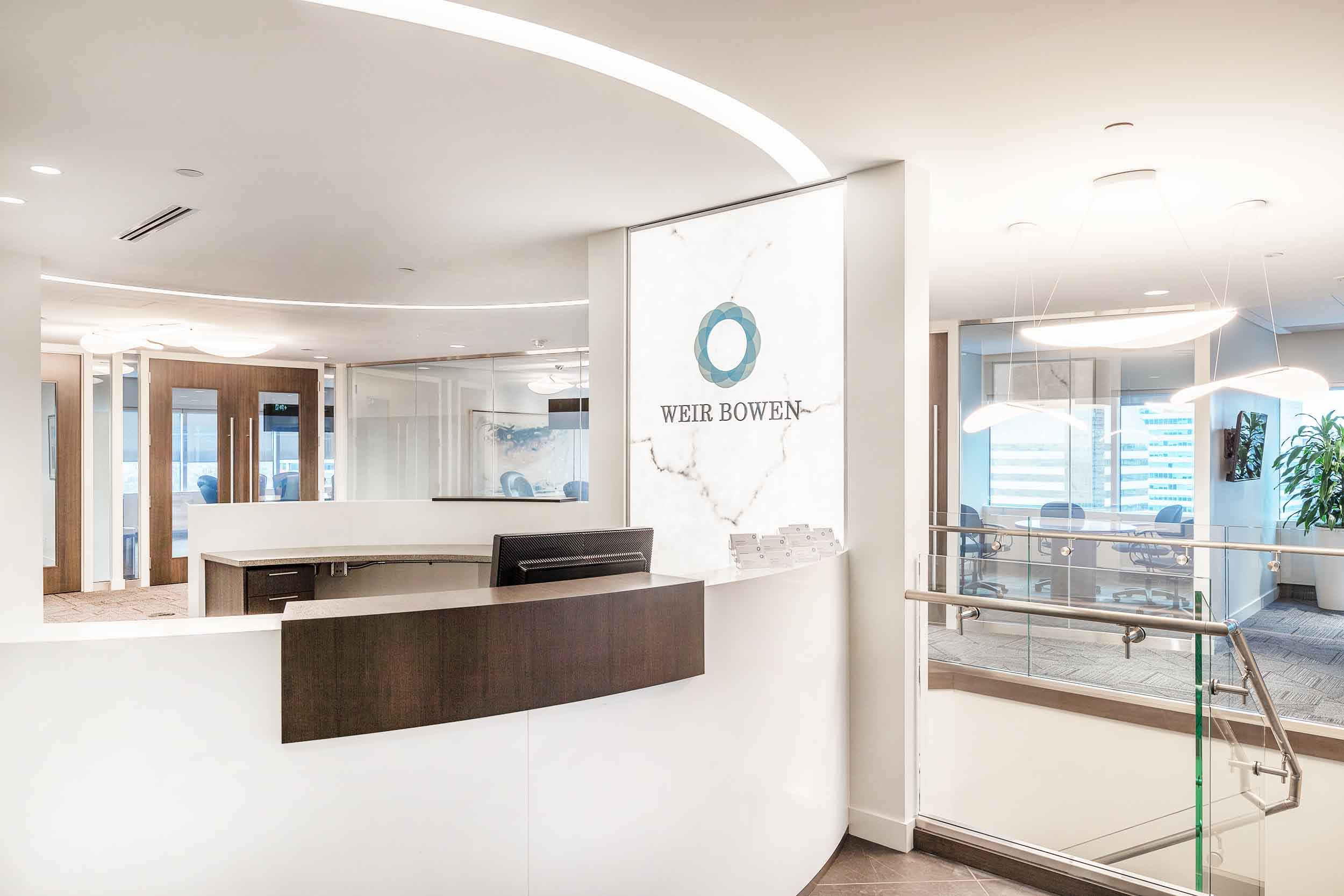Weir Bowen Reception Area