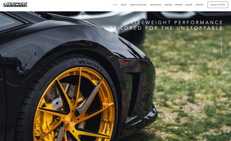 litespeed-racing A fast, flashy, and stunning website for a manufac...