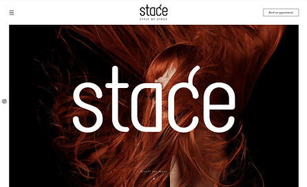 Style by Stace Hair Stylist Website Desi