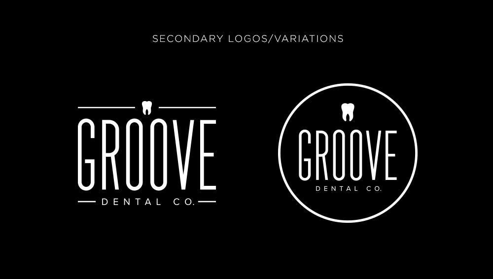Groove Dental Logo Variations