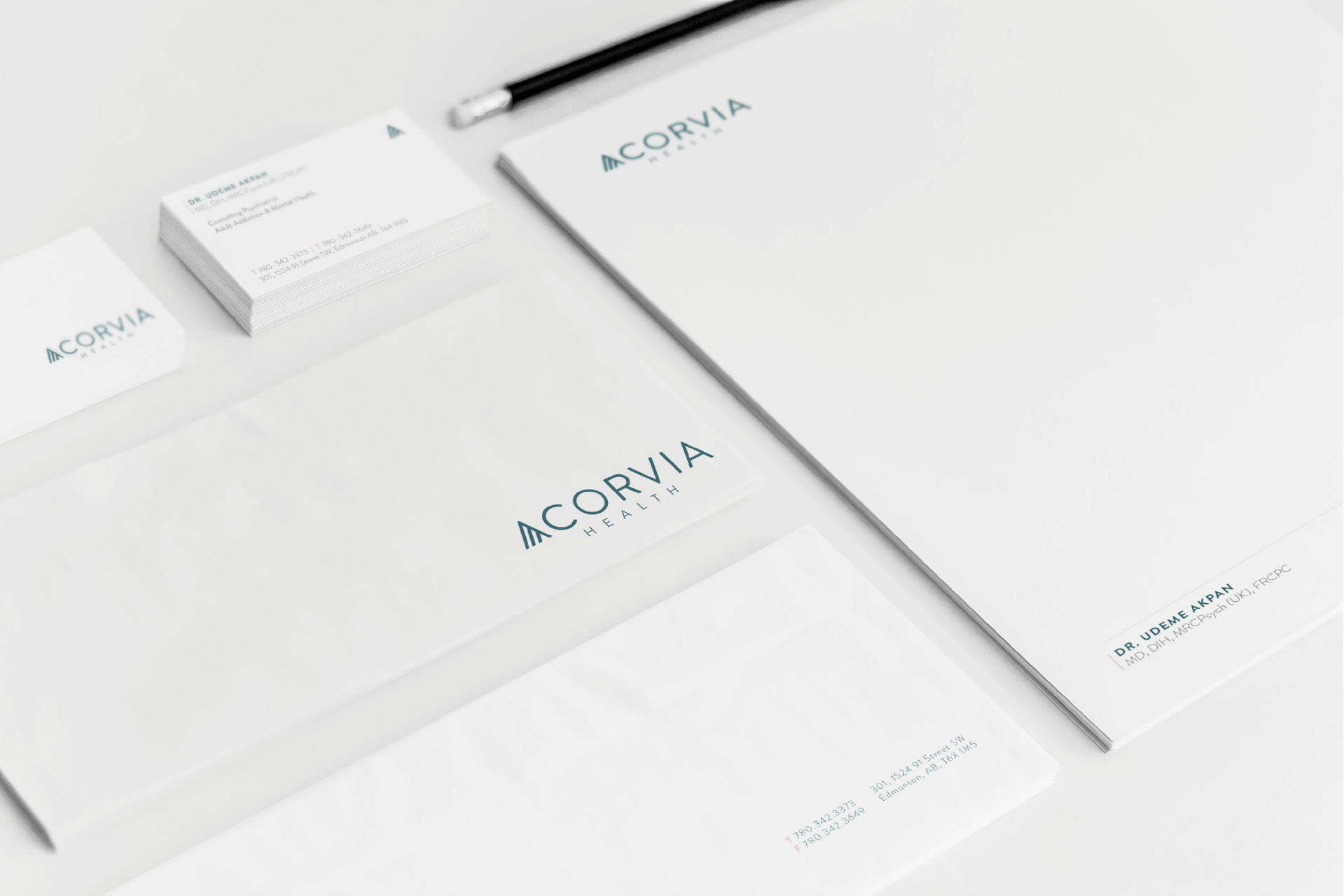 Acorvia Health Letterhead