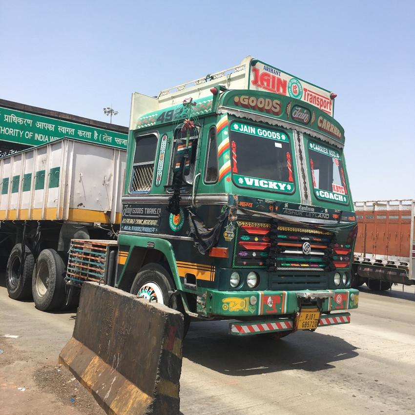 Bright trucks