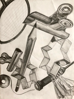 24 x 18 inches medium: graphite