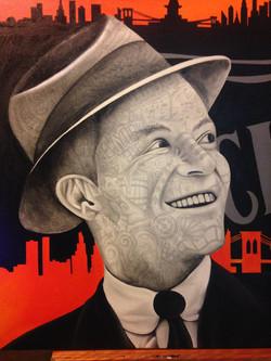 Sinatra - 100x060cm - oil