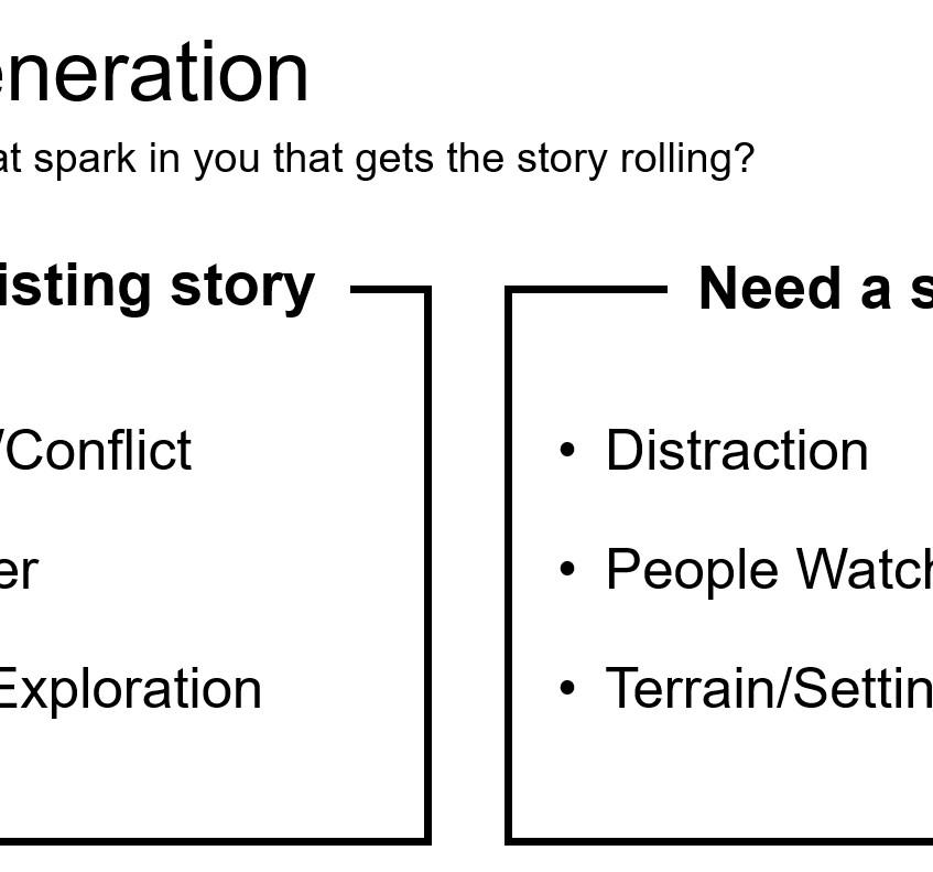 Story Generation