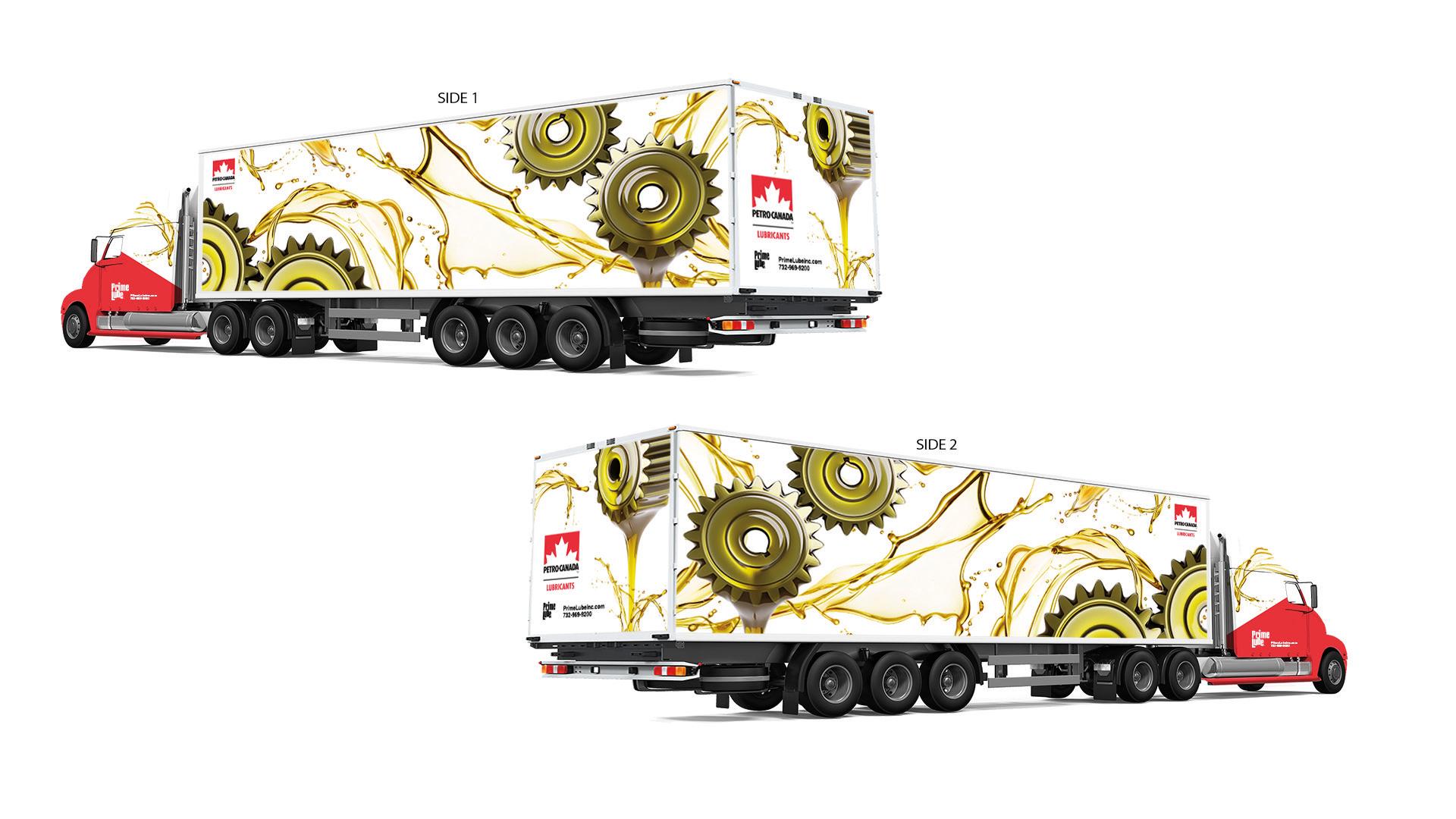 Truck Wrap Gears