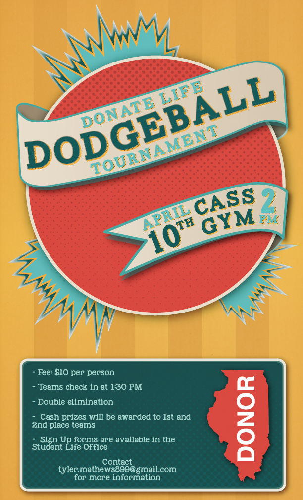 Dodgeball - Donate Life Tournament 8x14-01
