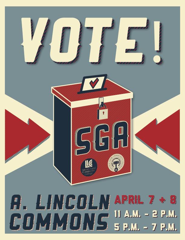 SGA Vote Poster
