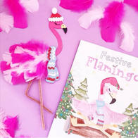 Flamingo Collage