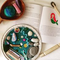 Mermaid Cave Sensory Tray