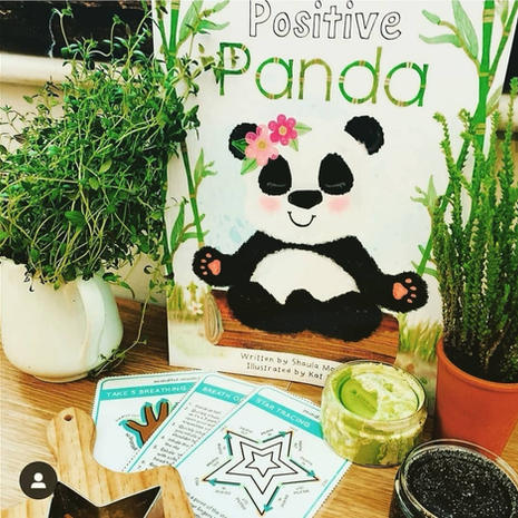 Panda Playdough