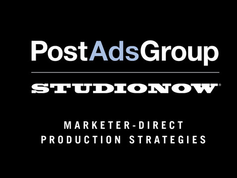 PostAds Group and StudioNow partner to Offer Marketer-direct Production Solutions