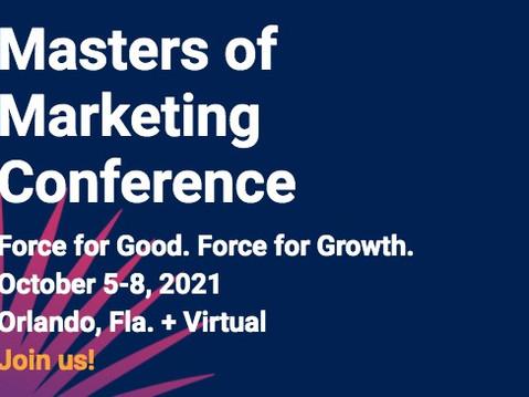 Prodigy @ ANA Masters of Marketing OCT 5-8 in Orlando, FL