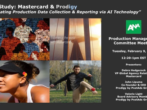 """""""Numbers Move Decisions!"""": Brands React to Prodigy Demo at ANA Production Management Meeting"""