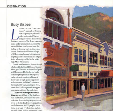 Delta Sky Magazine: July 2003 Unhurried