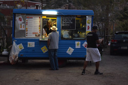 Food truck at Central School