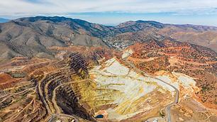 Lavender Pit Mining Overlook