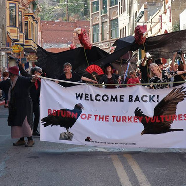 Return of the Turkey Vultures Parade