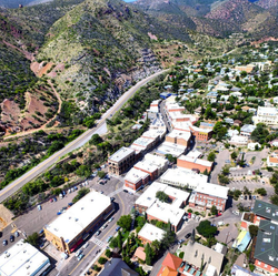 Old Bisbee from above