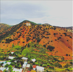 """B"" Hill in Old Bisbee"