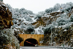 Tunnel in the Winter