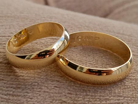Alianças e Votos de Casamento