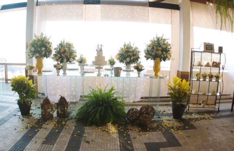 mesa do bolo casamentos