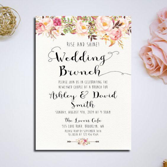 convite de casamento gringo