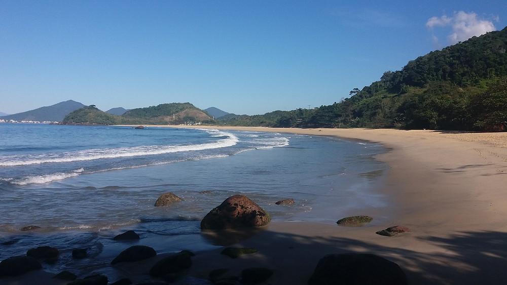 Praia Vermelha do Norte, Ubatuba-SP