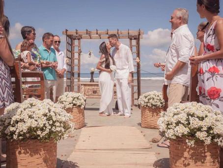 5 vantagens de uma casa pé na areia para casamento na praia