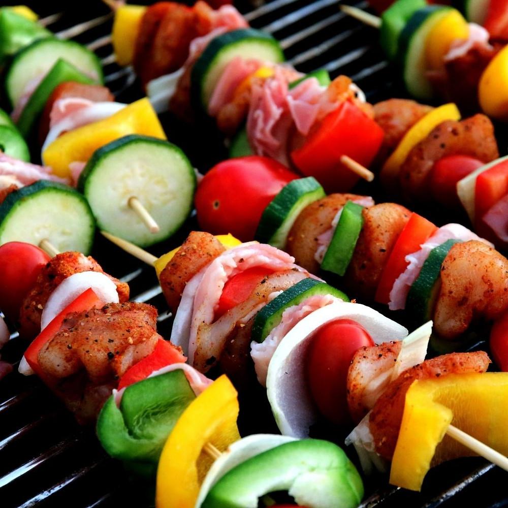 opção vegetariana no churrasco