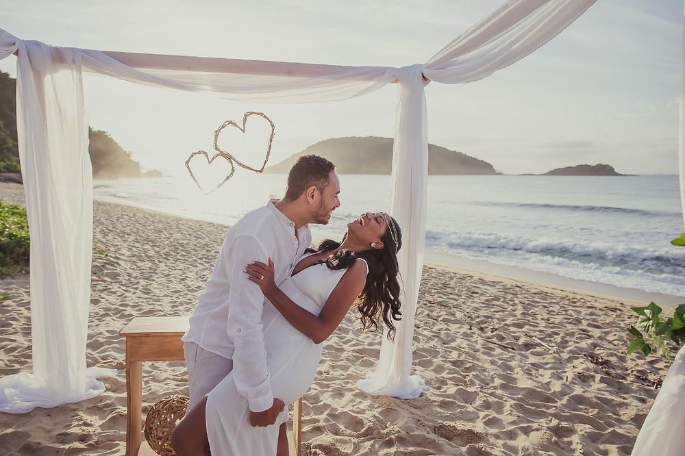 assessora de casamento praia