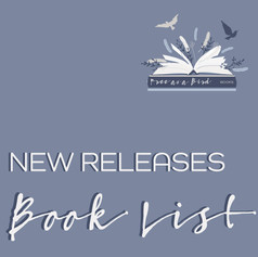 New Releases Book List