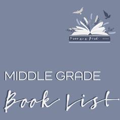 Miiddle Grade Book List