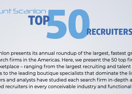 Top 50 Best Recruiters