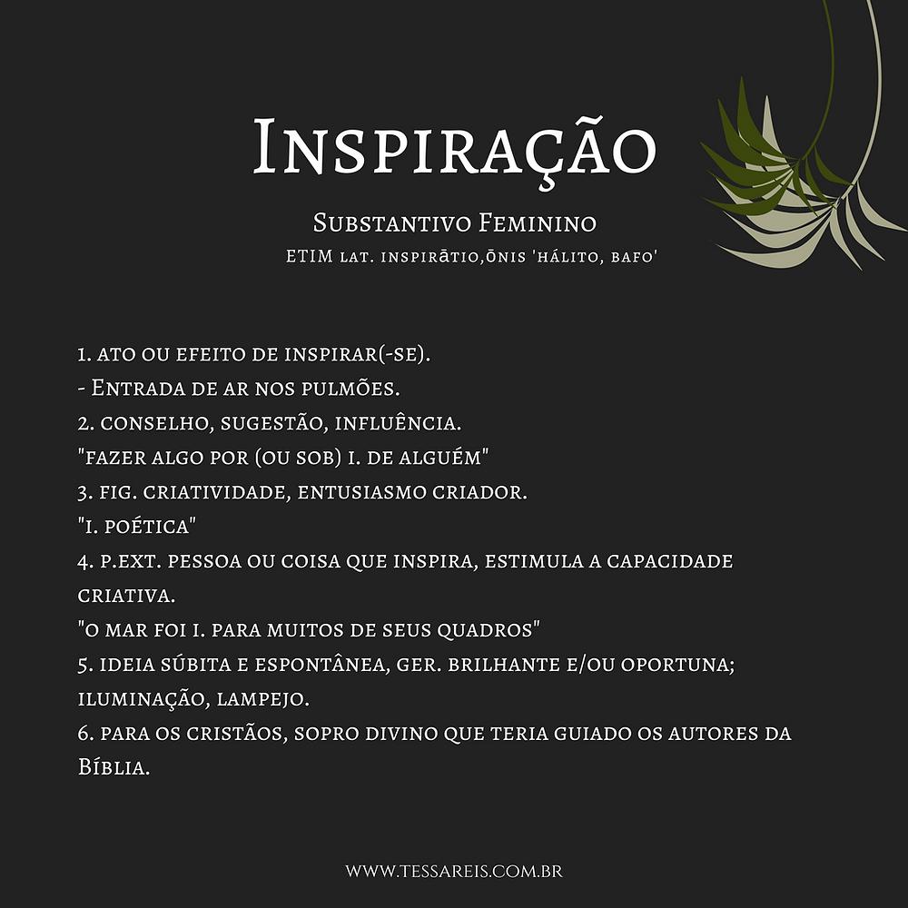 Inspiração e os seus significados