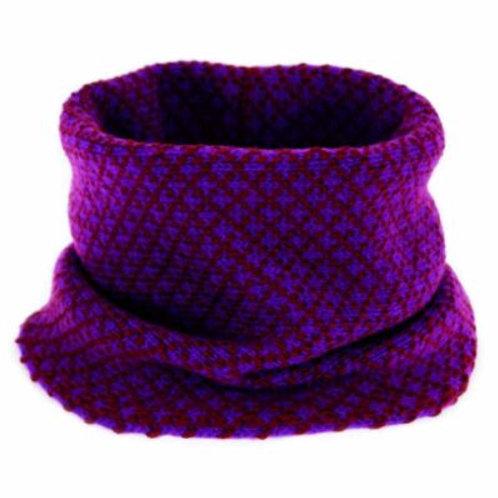 Mi-chelle Royal Purple Tweed Tube