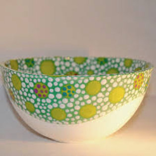 Claire Newell Green Bowl