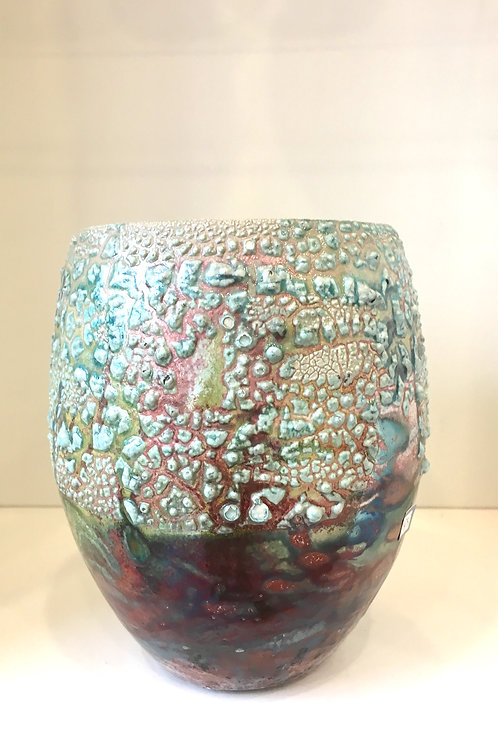 Ian Carty Dragon Glaze Medium Vase