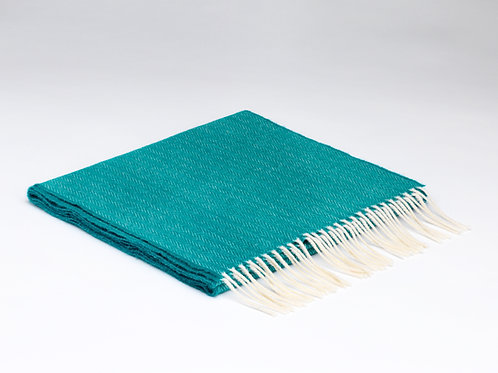 McNutt Lambswool Scarf - Tropical Green