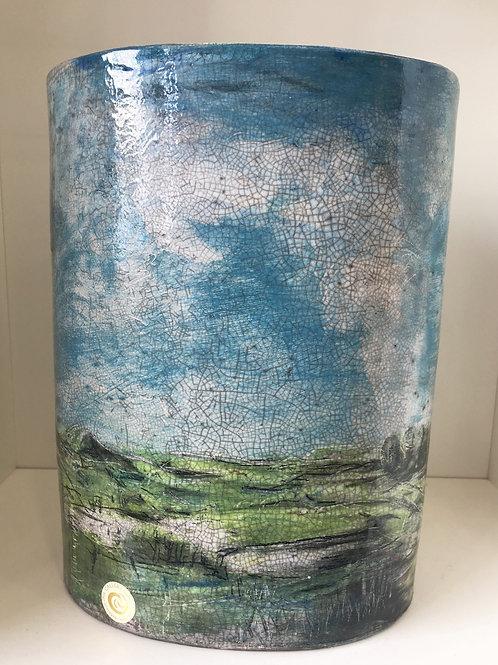 Tom Callery Landscape Vase