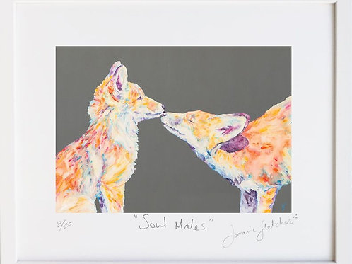 Soul Mates - Fox Print