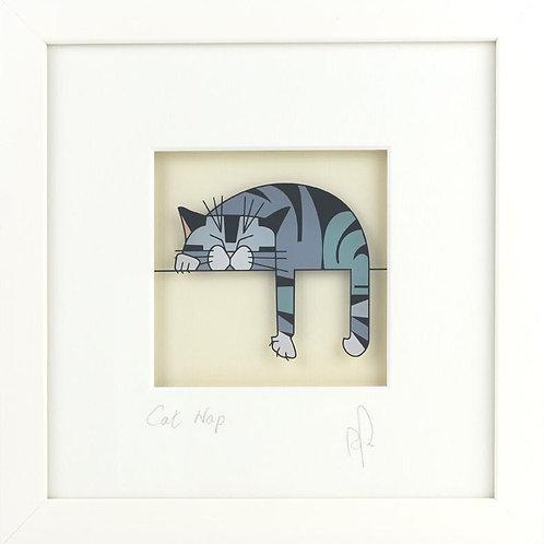 Black Hen Designs - Cat Nap (Grey)