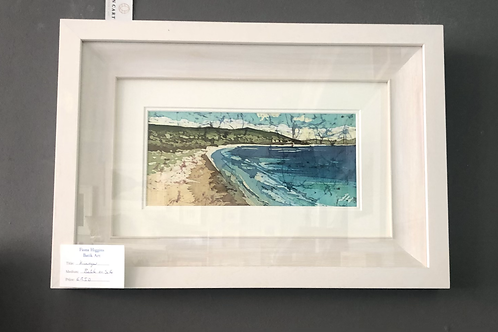 Fiona Higgins Batik - Kinnegar Beach