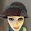 Thumbnail: Hanna Hat Slieve League 3 colour Tweed