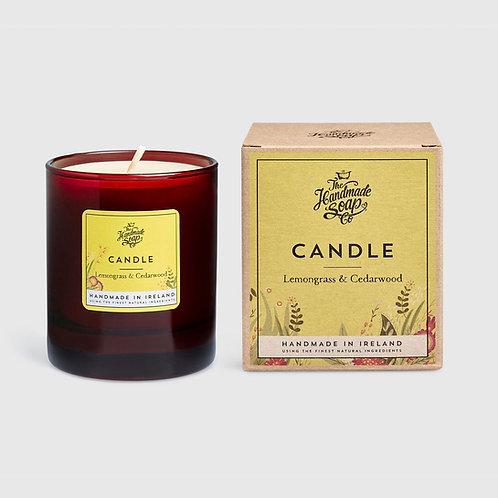 Handmade Soap Co Candle: Lemongrass & Cedarwood