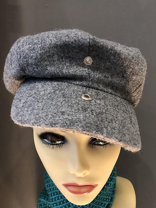 Hanna Hat 8 Piece Cap Tweed