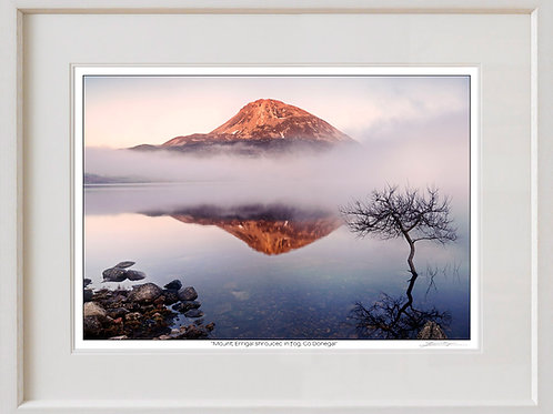 Shaun Egan Mount Errigal Shrouded in Fog