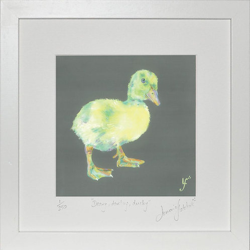Deary Darling Ducky Print